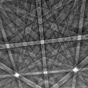 Diamond EBSD pattern